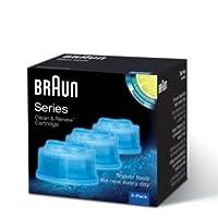 Hochwertige Braun Clean & Renew Reinigungs-Kartusche, Zitronenaroma-Formel