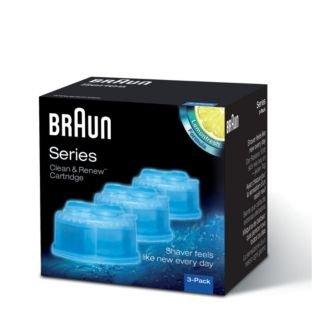 Neue Qualität Braun Clean & Renew Kartusche Serie Lemonfresh Formel (Braun Rasierer 8985)