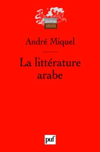 La littérature arabe