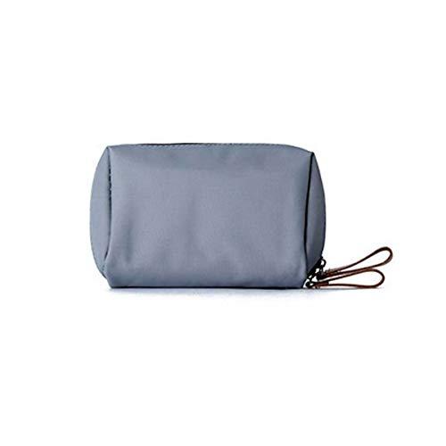 Sac à cosmétiques de voyage polyvalent - Organiseur de toilette parfait pour le voyage, portable, simple, dernier style (Color : Gray)
