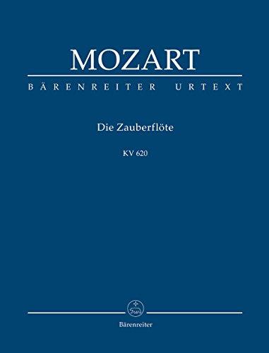 Die Zauberflöte KV 620 -Eine deutsche Oper in zwei Aufzügen-. Studienpartitur