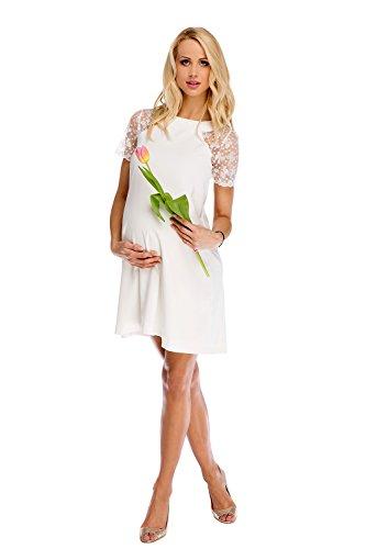 My Tummy Mutterschafts Kleid Umstands Kleid Julia mit Spitze A-Linie Elegant Hochzeit - 2