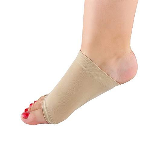 Arch Support Sock - Fußsocken mit Kompressionsgewölbestütze und Fußärmeln Arch Brace mit Comfort Gel Pad-Kissen Fußschmerzlinderung für Frauen und Männer -