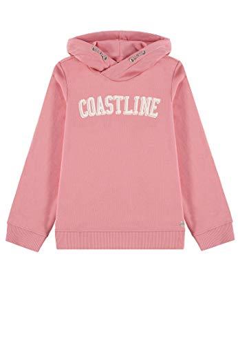TOM TAILOR Kids Mädchen Placed Print Sweatshirt, Rosa (Conch Shell 2176), (Herstellergröße: 152) -
