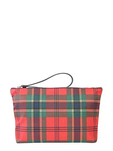 Alexander McQueen Luxury Fashion Uomo 550813G631N6470 Multicolor Beauty Case | Autunno Inverno 19