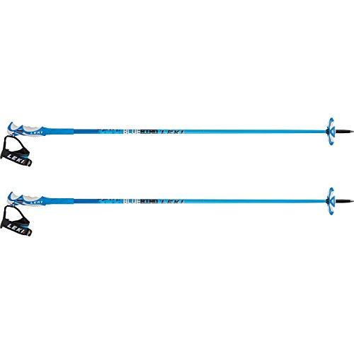 LEKI Erwachsene Skistock Bird Carbon, Base Color Design: Dark Blue-White, 135 cm -
