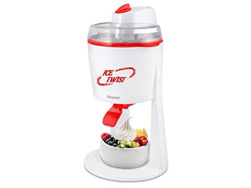 Beper Ice Twist - Maquina para hacer helados, color blanco