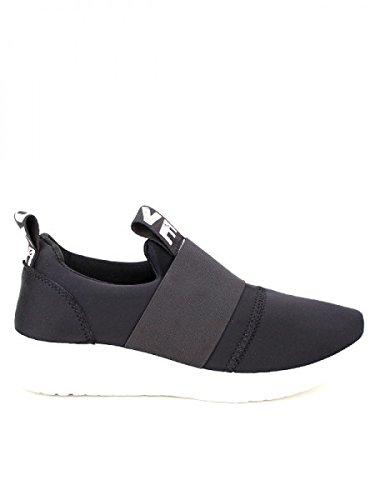 Cendriyon, Basket toile noire LOVE IT'S Chaussures Femme Noir