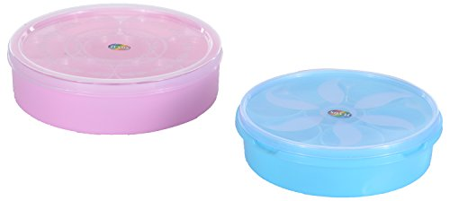 SONAL Masala Dabba / Spice Box Set of Small And Big Boxes with Cups and Spoon