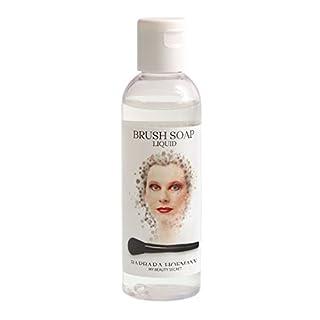 Pinsel-Seife Liquid, Kosmetik Pinselreiniger Brush Soap auch für Make-up Schwämme und Blender, 100ml