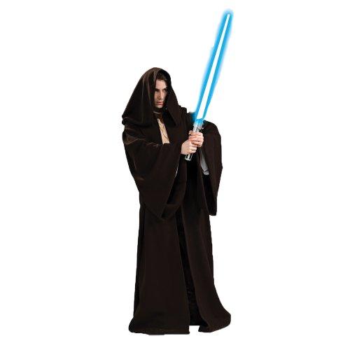 Jedi Authentische Kostüm - Jedi Robe / Umhang - Star Wars Film Kostüm, für Obi-Wan, Skywalker oder Yoda