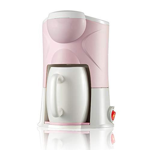 Amerikanische Kapsel-Kaffeemaschine Vollautomatische K-Cup Filterkaffeemaschine ist bequem und für Haus, Büro verwendbar,Pink