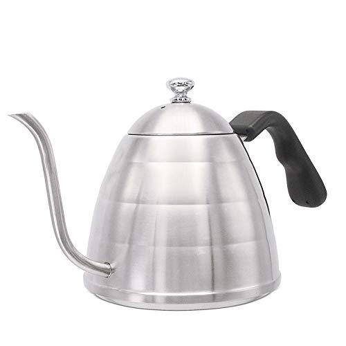 Gooseneck Pour Over Coffee Kettle Premium Grade Edelstahl Tea Kettle Isolierte BPA Kunststoff Ergonomic Handle geeignet für Warmwasser, etc.900 ML