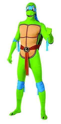Generique - Leonardo Ninja Turtles Kostüm für Erwachsene - zweite Haut L