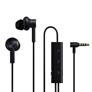 ToGames Xiaomi Active Noise Cancelling cuffie Mi ANC ibrida In-Ear Auricolari (colore: nero)