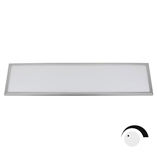Panel LED 40W Samsung SMD5630, 30x120cm, 0-10V regulable, Blanco frío, Regulable