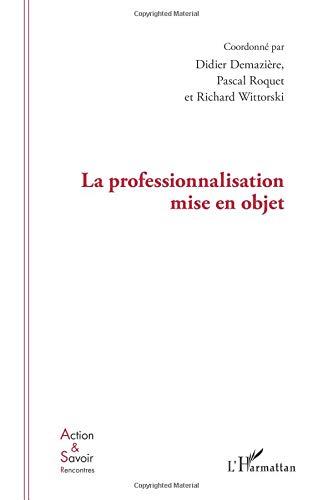 Professionnalisation Mise en Objet par Didier Demaziere
