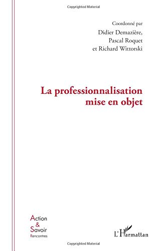 Professionnalisation Mise en Objet