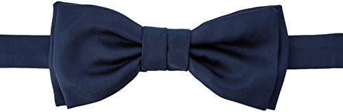 HUGO Herren Bow tie Fliege, per pack Blau (Navy 411), One Size (Herstellergröße: ONESI)