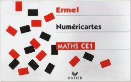 MATHEMATIQUE CE1 ERMEL NUMERICARTES de Hatier ( 22 novembre 2001 )