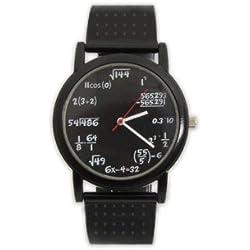 Awesome Math Wristwatch With Formulas
