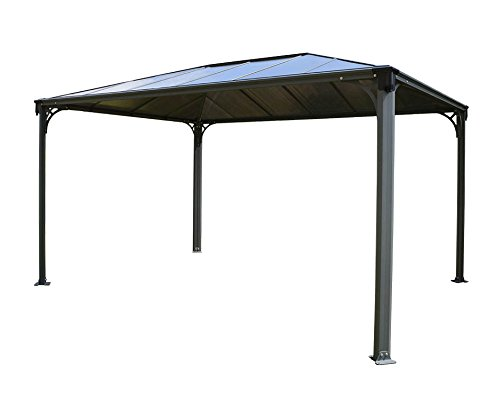 Palram Martinique 4300 Garden Gazebo Robust Structure For Year Round Use