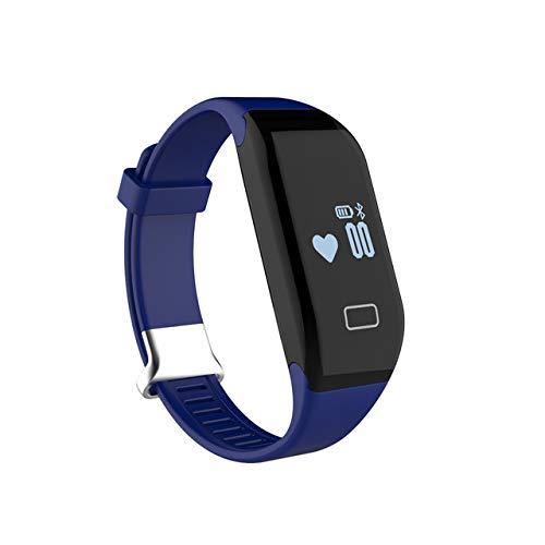 XHMCDZ Fitness Tracker Activity Watch und Herzfrequenzmesser, wasserdichtes Touchscreen Bluetooth Smart Armband für Männer, Frauen, Kinder mit Schlafmonitor, Schrittzähler Schritt Kalorienzähler iPhon