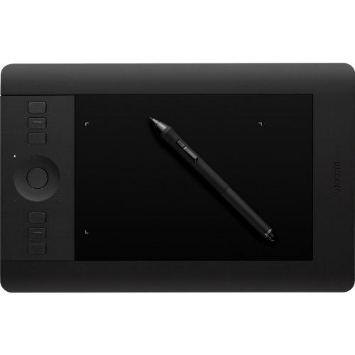 Wacom Intuos Pro Small - Tablette graphique à stylet professionnelle - Compatible avec Mac, Windows et de nombreux logiciels de création - X pouces - Noir
