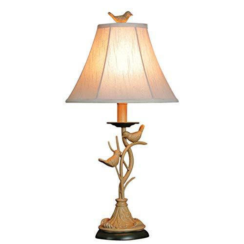 Auf Einem Floral Tisch Lampe (Tischlampe ROMX Resin, Nachttischlampe Vintage, Stehlampe Modern auf Tisch, E27-Fassung & Warmweiß für Wohnzimmer, Kinderzimmer, Schlafzimmer, Esszimmer Eckig Gelb)