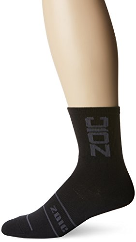 Zoic Herren Socken lang, Herren, schwarz/grau -
