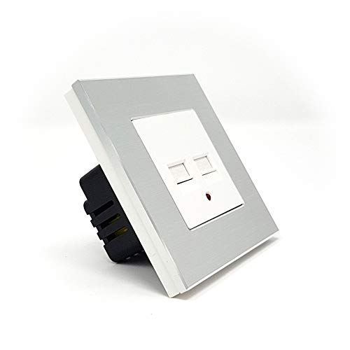Enchufe de pared empotrable USB 3.1 A para teléfono y Tablets IOS y...