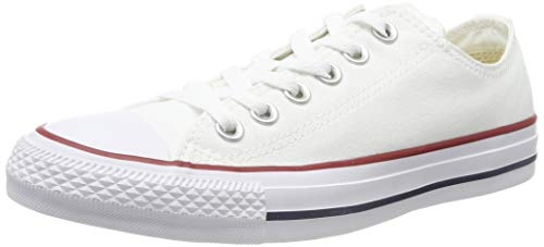 Converse Star Chuck Taylor Optical White Lo Top White 10.5 B(M) US Women/8.5 D(M) US Casual Canvas Oxford