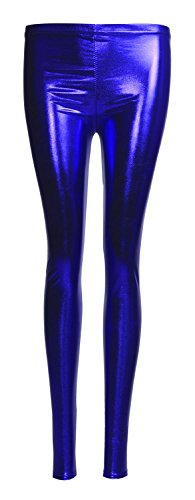 fast-fashion-leggings-wetlook-liquide-brillant-extensible-femme-eur-40-42-bleu-royal