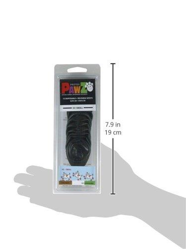 Protex Pawz Protective Dog Boots Black Edition, Medium 3