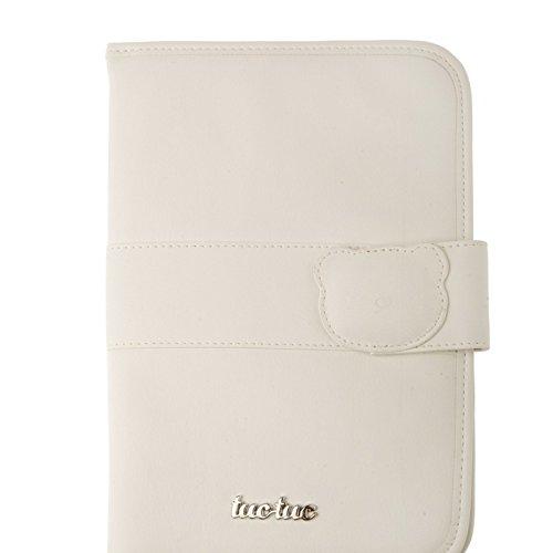 Tuc Tuc Brioche - Porta documentos de polipiel, color beige