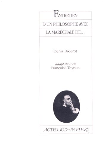 Entretien d'un philosophe... par Unknown
