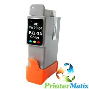 Canon BCI-21C/24C COLORI Pixma MP130/410/430 BJC2125 S330 PHOTO CARTUCCE COMPATIBILI Confezione da 1PZ