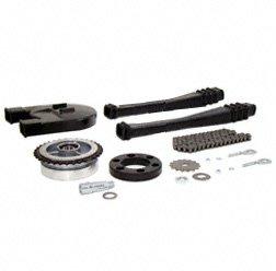Kettenkit, Kettensatz mit Kleinteilen - Simson Mokick S51, S53, S70, S83 - Mitnehmer Z=34, Rollenkette 110 Glieder, Antriebskettenrad Z=15