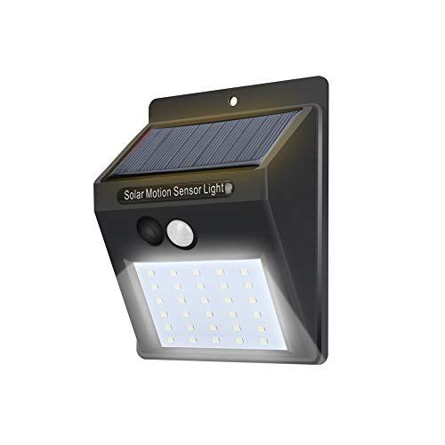 Mi ji Solar Luces Aire Libre 30 LED Luces solares