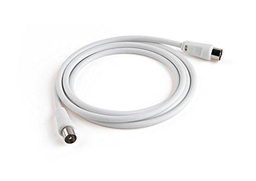 Meliconi-Cavo-per-Antenna-da-2-m-Bianco