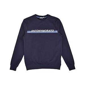 Antony Morato Sudadera Hombre Logo Marino