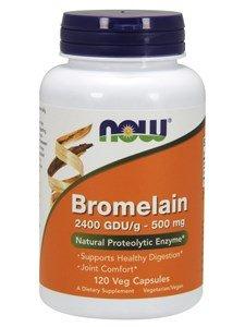 NOW FOODS Bromelain 2400 - 120 (Bromelina Naturali)