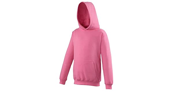 1195 Fire Red Childs Hoodie Choice Of 25 Great Colours Free