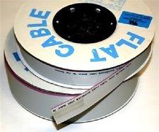 1x Angelrolle 16Way flach grau Flachbandkabel 100FT Spule UL/CSA geprüft