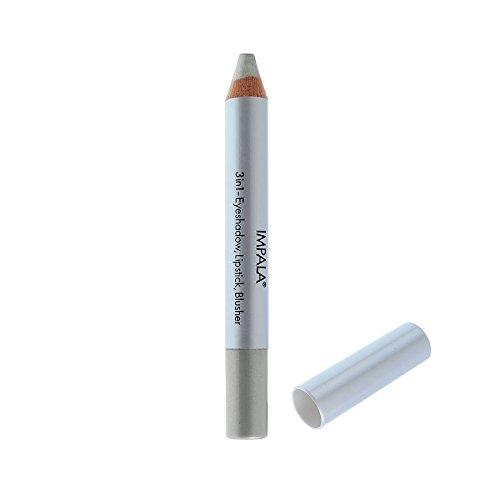 Impala Crayon Exclusif Jumbo 3 en 1 N06 Argent Yeux Lèvres Fard Tenue Longue