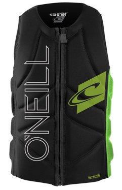 O'Neill Slasher Comp Vest Protektor L blk / dayglo