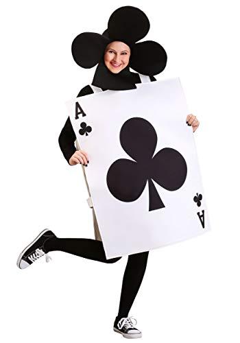 Adult Ace of Clubs Fancy Dress Costume - Ace Of Clubs Kostüm