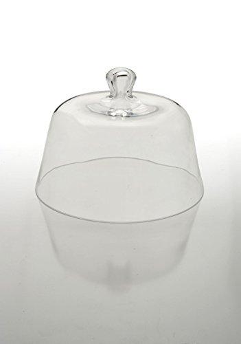 Sweet Home Cloche Provence en verre cod.5021641 cm 18h diam.26 by Varotto & Co.