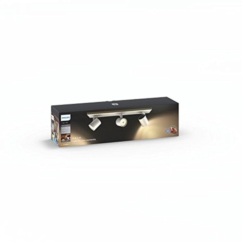 Têtes Télécommandé Alexa Hue 3 IncluseFonctionne Philips Runner Spot Avec Collées Luminaire Blanctélécommande OPXZTiku