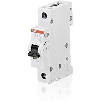 16A AC 230V//400V Homyl 2pcs Disjoncteur Unipolaire Interrupteur ON//OFF 32A